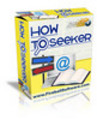Thumbnail How To Seeker with Bonus IM Seeker  (plr)