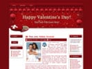 Hearts N Chocs  WP Theme with mrr