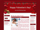 Thumbnail Hearts N Roses   WP Theme with mrr