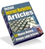 Thumbnail Instant Internet Marketing Articles