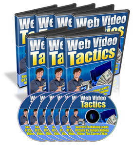 Product picture Web Video Tactics - MASTER RESELL RIGHTS Included