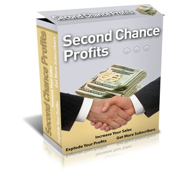 Product picture Second Chance Profits - MASTER RESELL RIGHTS