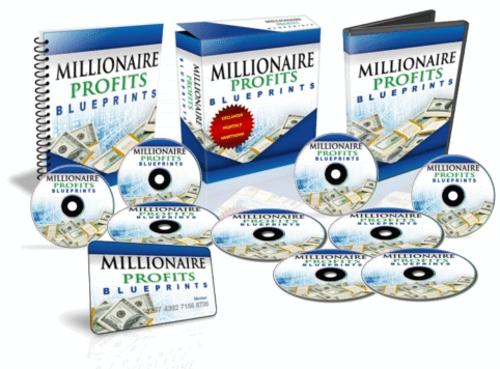 Product picture Millionaire Profits Blueprints December 2010 Edition