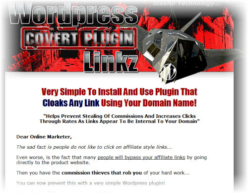 Product picture Wordpress Covert Plugin Linkz with Video and mrr