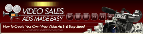 Product picture Video Sales Ads Made Easy with bonus 25 music tracks and mrr