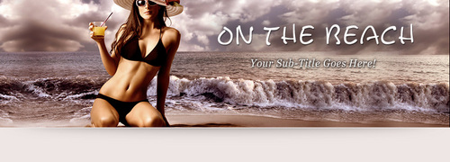 Product picture On the Beach 02   WP Theme